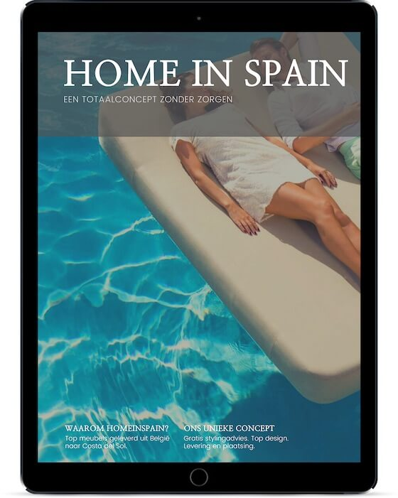brochure home in spain